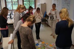 Enisa Romanic im  Workshop Office Management an der Euro Akademie Lippstadt