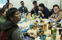 Absolventen der Shanghai Business School