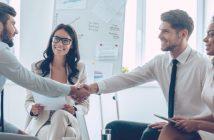Geschäftliche Beziehungen knüpfen