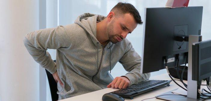 Schreibtischjob