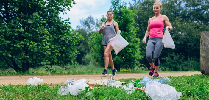Plogging macht fit und hilft der Umwelt