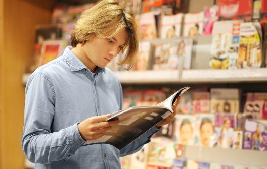 Welche Bücher und Zeitschriften interessieren Sie?