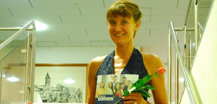 Stolze Sozialassistentin: Katrin Boccarius