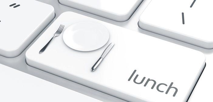 Das Mittagessen gehört zu einem gelungenen Arbeitstag einfach dazu