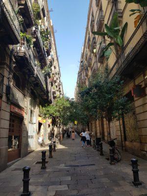 Mitten in Barcelona