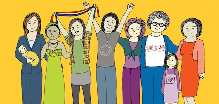 Frauen aus verschiedenen Generationen