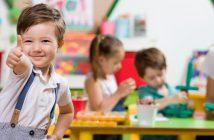 Daumen hoch für Berufe mit Kindern