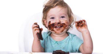 Schokolade schmeckt auch den Kleinen