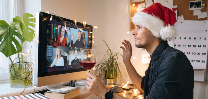 Virtuelle Weihnachtsfeier im Kollegenkreis 2020