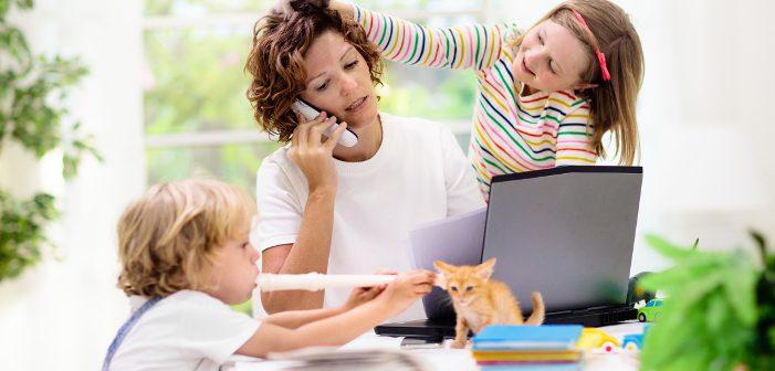 Homeoffice mit Kindergarten- und Schulkindern: So schaffen Sie das!