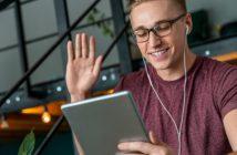 virtuell Lernen in der Gruppe