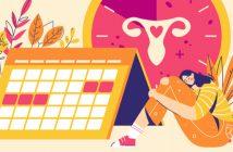 Menstruationsurlaub: Eine Frau leidet unter Regelschmerzen