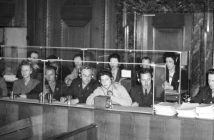 Dolmetscher*innen bei den Nürnberger Prozessen