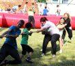 Weltspieltag mit Erziehern der Euro Akademie Dessau